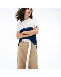 Lacoste - Slim Fit Petit Piqué Polo Shirt - Lyst