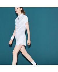 Lacoste - Sport Tennis Technical Jersey Wraparound Skirt - Lyst