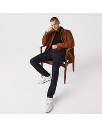 Lacoste Slim Fit Stretch Denim 5-pocket Jeans - Blue