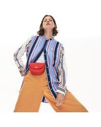 Lacoste Women's Chantaco Leather Belt Bag - Red
