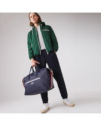 Lacoste Classic Tricolour Accents Weekender Bag - One Size - Blue