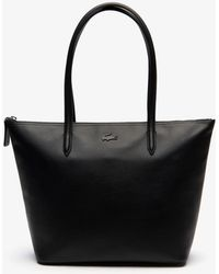 Lacoste - L.12.12 Small Leather Tote Bag - Lyst