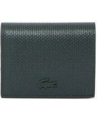 Lacoste Chantaco Nœud Small Piqué Leather Snap Coin Pouch - Multicolor