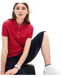 Lacoste - Classic Fit Soft Cotton Petit Piqué Polo Shirt - Lyst