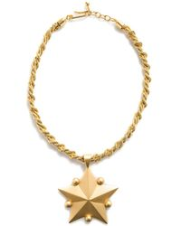 Karl Lagerfeld - Star Necklace - Lyst