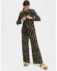 La Double J Jumpsuit Can Can In Sablé - Multicolor