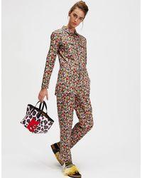 La Double J Farrah Fawcett Jumpsuit - Multicolor