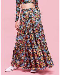 La Double J - Big Skirt Colombo Piccolo In Cotton - Lyst