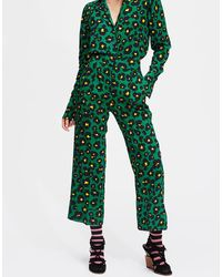 LaDoubleJ Cropped Anna Pants - Green