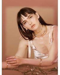Lady Grey - Core Collar In Silver - Lyst