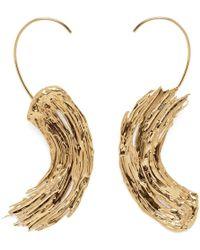 Lady Grey - Eva Earrings In Gold - Lyst