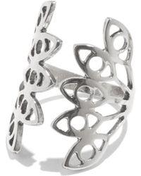 Lady Grey - Hydra Ring In Silver - Lyst