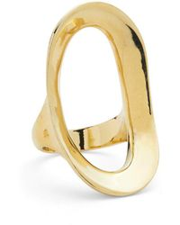 Lady Grey - Rink Ring In Gold - Lyst