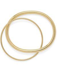 Lady Grey Oval Link Bracelet In Gold - Metallic