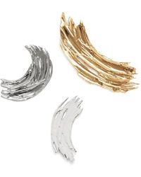 Lady Grey - Brushstroke Pin Set - Lyst