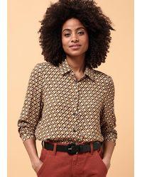 La Fee Maraboutee Chemise manches longues et poignets boutonnés - Multicolore