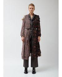 Junya Watanabe Coat With Blazer Motif - Multicolor