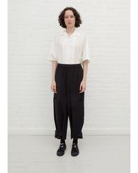Y's Yohji Yamamoto N-pocket Pant - Black