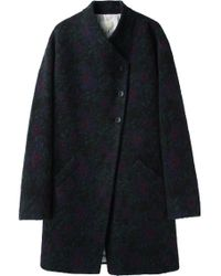 Girl by Band of Outsiders - Oversize Wool Coat - Lyst