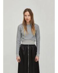 Paco Rabanne - Long Sleeve Sweatshirt - Lyst