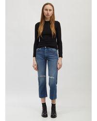 """Totême Original Ripped Jeans - 30"""" - Blue"""