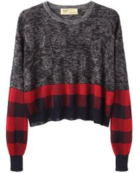 Toga Pulla - Check Knit Pullover - Lyst