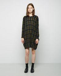 Zucca - Chequered Dress - Lyst