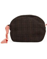 Maria La Rosa Isa Pouch - Brown