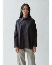 Hope Elma Cotton Shirt - Black