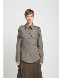 JOSEPH - Rainer Flannel Shirt - Lyst