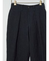 Toogood The Driver Trouser - Blue