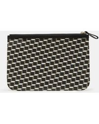Pierre Hardy | Petite Maroquinerie Canvas Cube Pouch | Lyst