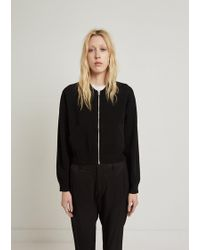 Acne Studios - Pokla Compact Zip-up Knit Jacket - Lyst
