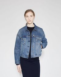 Acne Studios Lab Denim Jacket - Blue