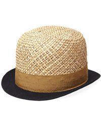 Henrik Vibskov - Straw Baller Hat - Lyst