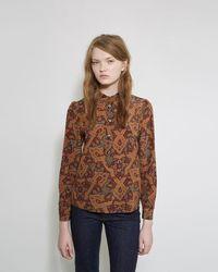 Vanessa Seward Argentina Paisley Blouse - Multicolour