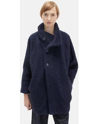 Blue Blue Japan - Pile Fur Stand Collar Coat - Lyst
