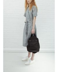 MHL by Margaret Howell Washed Cotton Army Surplus Bag - Black