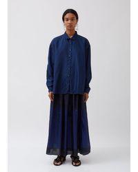 Péro Silk Shirt - Blue