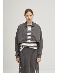 JW Anderson - Cropped Zip Up Jacket - Lyst