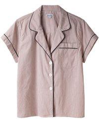 Steven Alan - Checked Pajama Top - Lyst