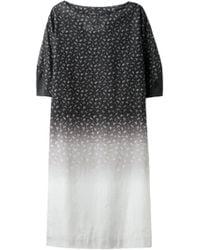Cosmic Wonder - Flower Gradation Print Dress - Lyst