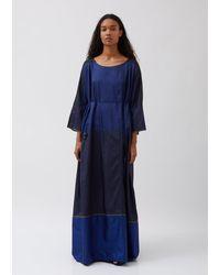 Péro Shift Dress - Blue