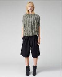 Bless Horizonball Reflective Pullover - Multicolor