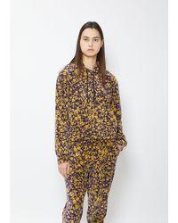 6397 Floral Mini Hoodie - Multicolour