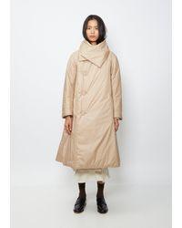 Issey Miyake Puff Coat - Natural