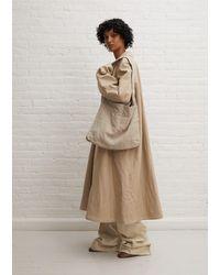 Lemaire Cotton & Linen Overcoat - Natural