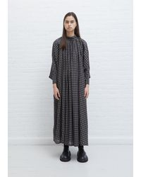 Toogood The Falconer Wool-cotton Dress - Grey