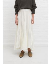 Dusan Pleated Pants - White