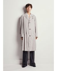 Maison Margiela - Pleated Trench - Lyst